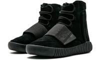 750 mens sports shoes basf Glow In The Daik shading Kanye 750 skateboard sneakers high Brown Grey Gum Triple Black Women Running Shoes 2021