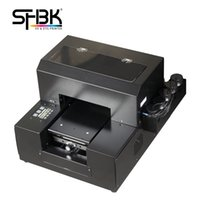Factory wholesale sales A4 UV printer The latest multi-functional mobile phone silicone shell L800 L805 Flatbed T-shirt printing machine model:A4-6