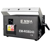 2w RGB animation analog modulation laser light show  DMX,ILDA laser disco light  stage laser projector