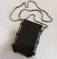 Paris Women Brand mobile phone bag Top Fashion Messenger Bags designer Zero Purse Womens Clutch Wallet Lady Gold chains handbags