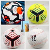 Club League 2021 2022 soccer Ball Size 5 high-grade nice match liga premer 20 21 PU football (Ship the balls without air)