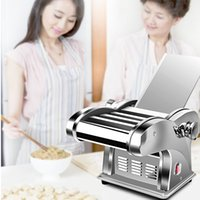 Discount macaroni machine 2021 Household Electric Pasta Maker Dumpling Pasta Press Dough Mixer Spaghetti Macaroni Making Vegetable Noodle Machine