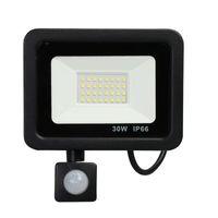 Human Body Sensor Outdoor Lighting Floodlights IP66 Waterproof 10~300w PIR Induction Lamp Intelligent Motion Sensors Wall LED Light House Courtyard Garage