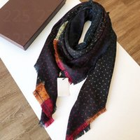 2021 G. Scarf For Men and Women Oversized Classic Check Shawls Scarves Designer luxury Gold silver thread plaid g Shawl size 140*140