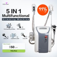 Cryolipolysis fat freezing machine body slimming cavitation rf equipment weight reduction lipo laser 2 cryo heads can work at the same time