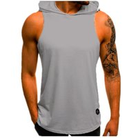 21Summer Men's Waistcoat Summer Simple Casual Stylish Top Sport Trend Sleeveless Size: M-2xL