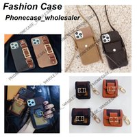 Fashion Designer Phone Cases for iphone 13 12 11 Pro Max 11P XR XSMax 7 8 plus with Patterns Leather Card Pocket Wallet Case