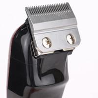 Top Seller 8148 Magic Clip Metal Hair Clipper Electric Razor Men Steel Head Shaver Hair Trimmer black Gold Red 2 Color