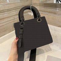 Designer Luxury Handbags Purses Women Shoulder bag Genuine Leather with Houndstooth Fabric CrossBodybag Saddle Handbag High Quality02