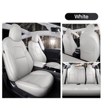 Car Accessories Seat Cover For Tesla Model Y S High Quality Leather Custom Fit 5 Seaters Cushion 360 Degree Full Covered Model 3 (Only Made Tesla) 001