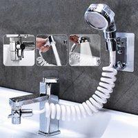 Faucet External Shower Head Filter Hand Toilet Faucet Flexible Suit Portable Wash Hair House Kitchen Sink Faucet Water Saving 210309