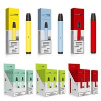 800 Puffs Plus Disposable Vape E cigarettes Pen Devices 3.5ml Pre-Filled Pods Cartridges Vaporizers 550mAh Battery Vapor bang xxl delta pens max flow