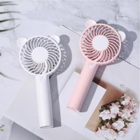 Discount electronics cooling fans USB Power Fan 1200mAh Handheld Fan Cooler Electric Laptop Rechargeable Electronic Components for Household Decor