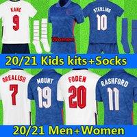 Euro 2021 England soccer jersey KANE STERLING RASHFORD SANCHO MOUNT FODEN 20 22 national GREALISH PHILLIPS SAKA BELLINGHAM football shirt men + kids kit sets