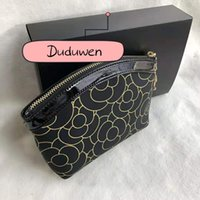 New C makeup storage bag zipper with pendant bag with gift box