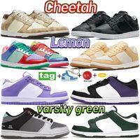 Newest cheetah running shoes zebra sunset pulse lemon trainers black grey blue cny 2021 court purple varsity green men women sneakers