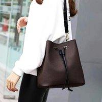 luxury brand designer backpack Drawstring Bucket Bag Shoulder Bags women