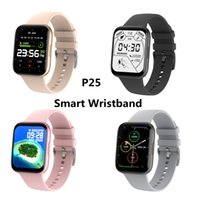 P25 Smart Watch 1.69 Inch IP68 Waterproof Wristbands Sports Motion Tracking Smartwatch Men Women For Apple ios Android phone Fitness Tracker