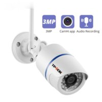 Wholesale IP Camera WiFi MP Outdoor High Definition Surveillance Video Wi Fi Camara HD P Onvif Wireless Wi Fi Audio Record CamHi Cam