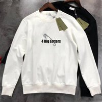 21ss Mens hoodies couples casual Pullover long sleeve street Hip Hop Cotton Safety Pin loose fit womens luxury hoodie sweatshirt jumpers