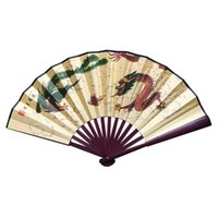 china fan dance 2021 - 8 inch men's silk fan Chinese traditional handicraft factory direct sales