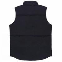 2021 New Mens freestyle real feather down Winter Fashion vest body warmer Advanced Waterproof Fabric men women vests jacket