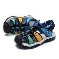 2021 Designer Design Youth Fashion Kids Sandals Unisex Outdoor Fashion Summer Shoes Casual Beach Shoes 27-37 Size