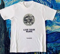 2021SS lovers T-shirts men women Pleasures Love Your Mama casual t-shirt short sleeves SESAME STREET L fashion clothes tees outwear tee tops quality