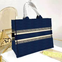 2021 fashion luxury large size shopping bags wallet letter embroidery women's handbag classic designer shoulder bag high quality Tote