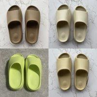 PKSport Slides Slippers Men Women Desert Sand Black Bone White Core Brown Enfora Blue Orange Resin Slide Moon Gray Sandals Pure Soot Shoe Green Big Size 13