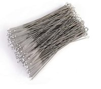 100X Pipe Cleaning Brushes, nylon straw brush, drinking water, stainless steel plastic burner cleaning tool, 17cm, 24cm optional