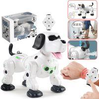 Wholesale 2020 New Remote Control Smart Robot Dog Programable G Wireless Kids Toy Intelligent Talking Robot Dog