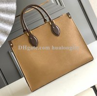 Woman Shoulder Bag Shopping handbag big tote purse date code serial number flowers fashion on the go