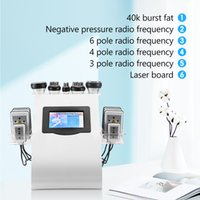 Slimming Machine 6 In 1 40k Ultrasonic liposuction Cavitation 8 Pads Laser Vacuum RF Radio Frequency Skin Care Salon Spa Beauty Equipment Stock In USA!!!