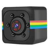 1080P Mini Cameras SQ11 2.0MP HD Camcorder Sports DV Video Recorder Small Infrared Night Vision Security Support TF Card Indoor and Outdoor