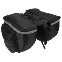 Bike Waterproof Rear Storage Bag Bicycle Back Rack Pouches Bike Saddle Bag Folding Cycling Accessory