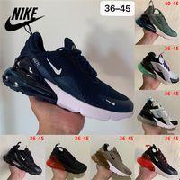 Nike Air Max 270 Mens Running Shoes Worldwide Triple Black Golf White Gum Men Womens 27C Sports Sneakers Runner Outdoor Trainers