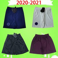 2020 2021 soccer shorts 20 21 fourth black third purple home blue away white paris football pants maillots de foot MBAPPE CAVANI