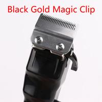 2021 black gold magic Men Electric Hair Clippers Cordless Adult Razors Professional Local barber hair trimmer Corner Razor Hairdresse Good
