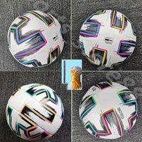 20 21 Top quality European Cup size: 4 Soccer ball 2021 Final KYIV PU size 5 balls granules slip-resistant football high