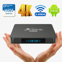 X96Q PRO Smart TV BOX Android 10.0 Allwinner H313 Quad Core TVBOX 4K UHD HDR 2.4G 5G WIFI Set-Top Boesx