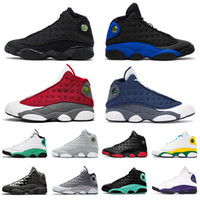 2021 Jumpman Trainers Flint 13 Lucky Green Mens Womens Outdoor Shoes 13s XIII Soar Playground Lakers Women Sports Sneakers Size 36-47