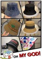 Nylon Bucket Hat Designers Caps Hats Mens Womens Luxurys Fedora Fitted Casquette Baseball Cap Bonnet Beanie designer 2 colors 2021 nice