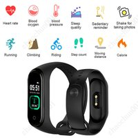 M4 Pro Body Temperature Bracelet Smartband Health Watch Heart Rate Monitor Fitness Tracker Activity Blood Pressure Free Drop Ship
