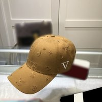 2021 luxurys designers baseball hat high quality material production details exquisite fashion summer travel essential sunshade cap 4 colors