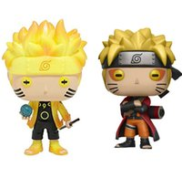 Funko Pop Vinyl Action Figures Animation:Naruto Six Path Sage Mode With Box #185 #186 Gift Doll Toy