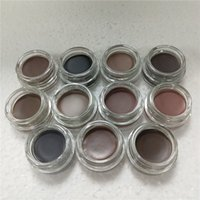 11 colors Eyebrow pomade cream Waterproof eyebrows Enhancers Creme Makeup full size with retail box in stock