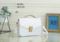 Women 5color handbag messenger bag oxidizing leather POCHETTE metis shoulder bags crossbody bags shopping purse clutches