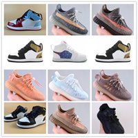 Infant Ash Blue Stone Kids Running Shoes Sand Taupe Mono Clay Ice Mist Children Fearless Trainers Quai 54 Big Boy Girl Toddlers Sneakers Have A Good Game