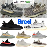 With box Zebra running shoes Bred Ash pearl stone blue Sand taupe Natural Cinder Reflective Israfil Tail Light Linen men women sneakers trainers